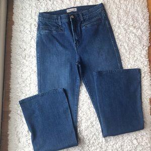 Madewell Flea Market Flare jeans size 30